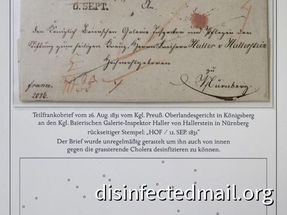 Prussia (Königsberg) - Bavaria (Nürnberg)